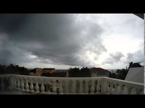Time Lapse 1 Bad Weather in Pto. Morelos Mexico 2015-10-19