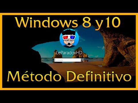⚒ Recuperar contraseña Administrador de Windows 8 y 10 Facil y Rapido [Método Definitivo] ⚒