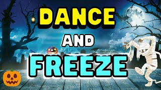 ???? Halloween Freeze Dance ???? FUN Workout for Kids | Fall Brain Break ???? Just Dance Halloween ????