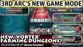 3rd Arc New Vortex Farming Dungeons (Brave Frontier)