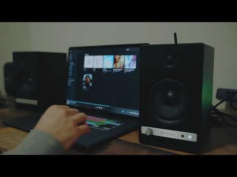 Download AudioEngine HD4 Best Wireless Speakers For iPhone & MacBook Pro