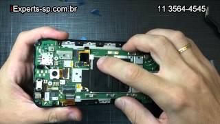 Como trocar a Tela Touch LCD Frontal quebrada do Moto X2 segunda geração Tutorial
