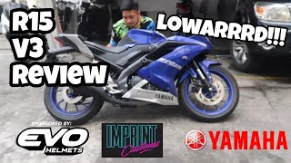 YAMAHA R15 VERSION 3 REVIEW (SULIT NA SULIT!)