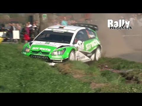 TAC Rally Tielt 2011 (incl. Tsjoen C4 WRC crash)