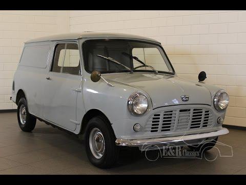 Austin Mini Van LHD Belgium delivered very good unrestored condition -VIDEO- www.ERclassics.com