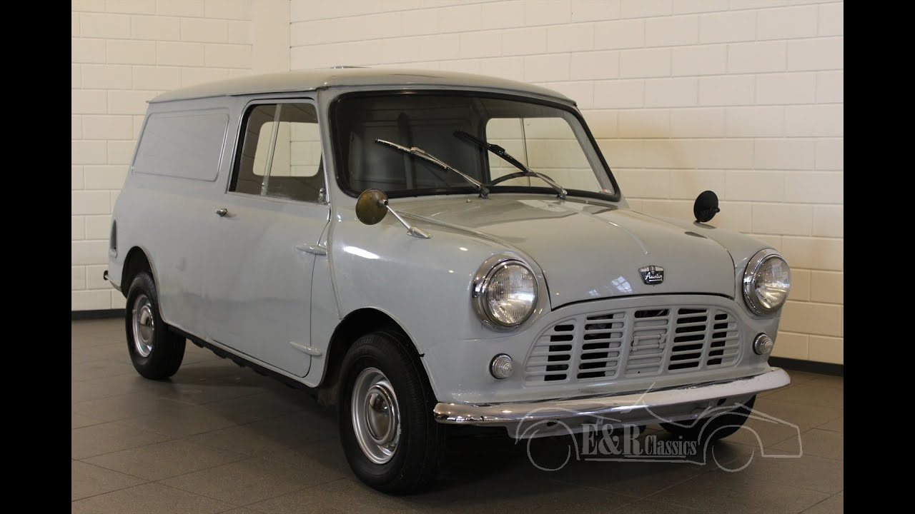 austin mini van lhd belgium delivered very good unrestored condition video. Black Bedroom Furniture Sets. Home Design Ideas