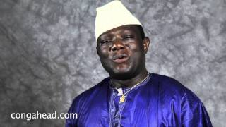 Balafon master, Famoro Dioubate performs for congahead.com