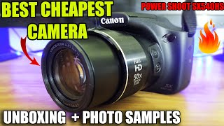 Unboxing CanonPowershot sx540hs Best Budget Camera Under 20 000 Review amp Samples