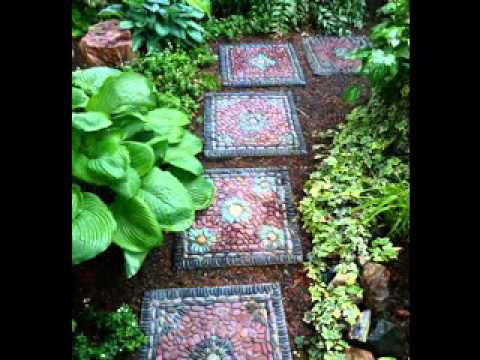 DIY Garden craft projects ideas - YouTube