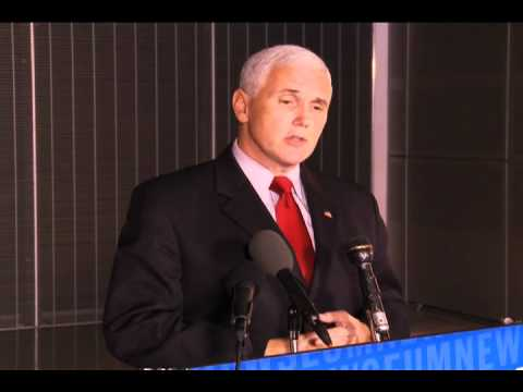 11 07 10, Mike Pence