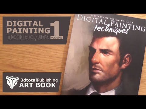 digital-painting-techniques-volume-1-by-3dtotal-publishing---an-art-book-quick-look