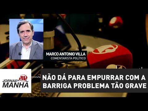 Não dá para empurrar com a barriga problema tão grave   Marco Antonio Villa