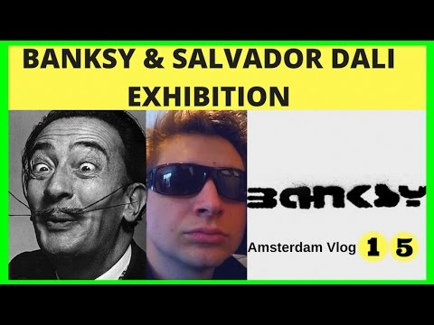 Bansky & Salvador Dali Exhibition at Moco Museum Amsterdam