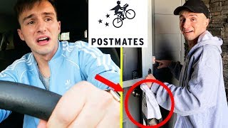 I TRIED BEING A POSTMATES DELIVERY DRIVER FOR A DAY