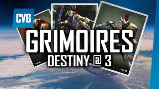 Destiny Grimoire Cards | Destiny @ 3