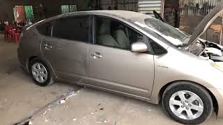 2007 Prius for Sale | The 2007 Toyota Prius half full option silver color review detail & price