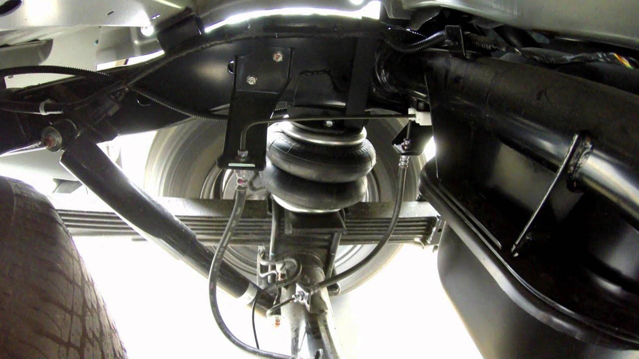 In Action Mitsubishi Triton Mq Air Suspension Rr4678