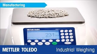 The ICS241 Counting Scale - Product Video - METTLER TOLEDO Industrial Weighing - en