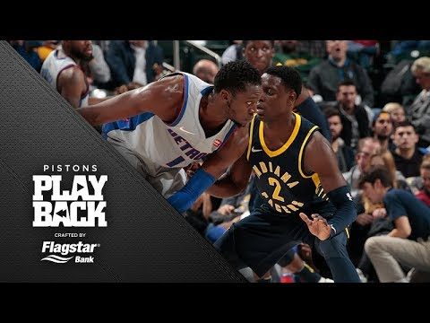 Pistons Playback crafted by Flagstar: Pistons at Pacers