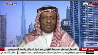 لقاء د.محمد الصبان مع سكاي نيوز عربيىة حول انحفاض اسعار النفط والتوقعات المستقبلية الاثنين 2016/7/11