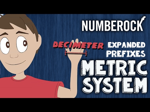 Metric System Music Video: Online Education Songs For Kids