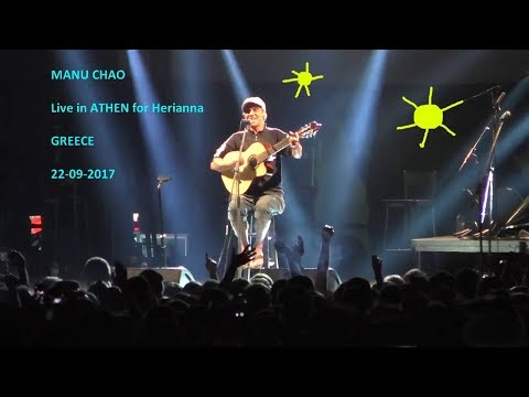 * MANU CHAO *  Full LIVE HD  @ Athen GREECE 22-09-2017