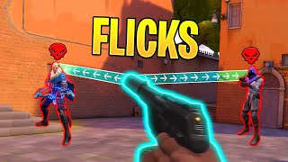 "Cover images UNBELIEVABLE ""AIMBOT-LIKE"" Shots & Flicks - Best Shots & 400 IQ Snipes - Valorant Highlights Montage"