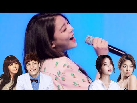 Ailee 에일리 Harmonizing with Other Idols & More!  Kpop Queen of Harmonies!