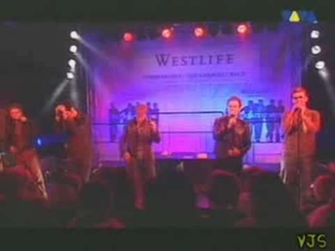 westlife - tonight (live video)