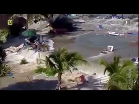 Tsunami -  nagrania z wakacji