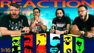 Young Justice 1x16 REACTION!!