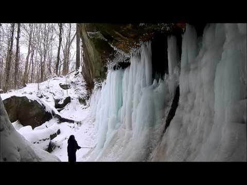 williamsport waterfall --- winter