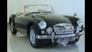 MG MGA Roadster 1958 -VIDEO- www.ERclassics.com