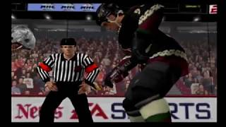 NHL 2001 - Coyotes/Avalanche Playoff Gameplay (Playstation 2)