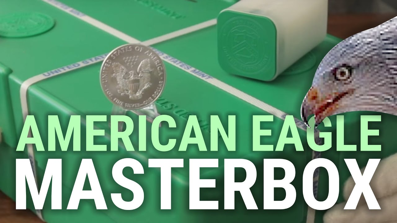 Silber American Eagle Die Silbermünze Aus Den Usa Nahaufnahme