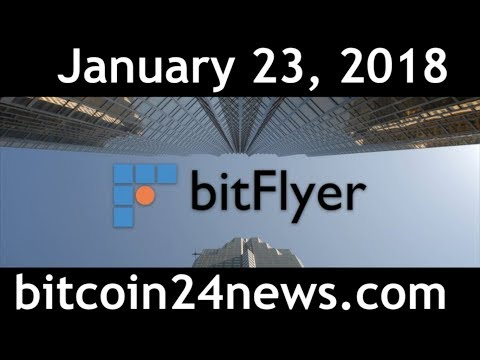 BitFlyer Bitcoin Exchange coming to Europe!!! 1/23/2018