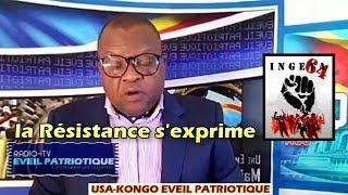 LA RESISTANCE  2018 : L'Opposition sordidement épongée par Kabila, la Résistance s'exprime.