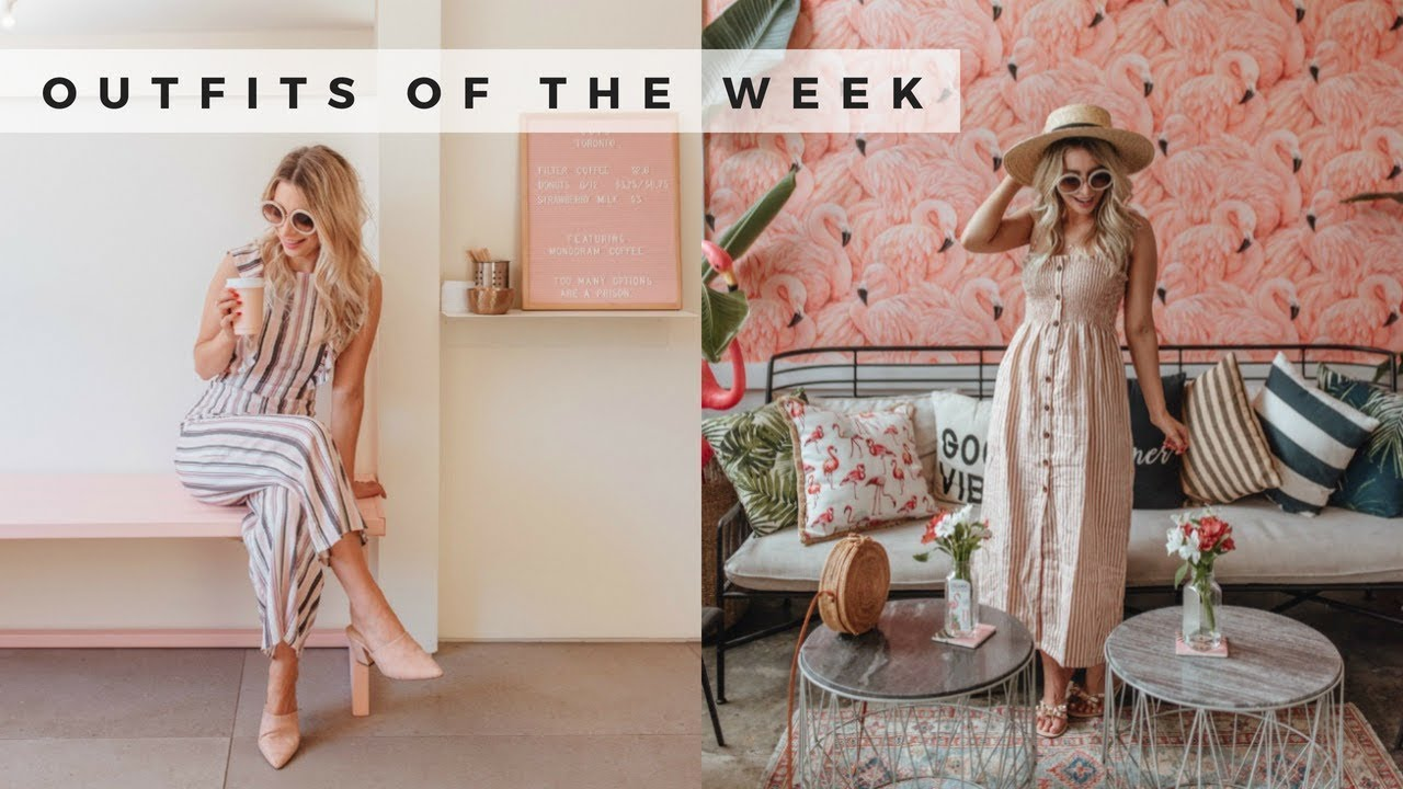 What I Wore This Week   Summer 2018 Outfits   Joëlle Anello 6