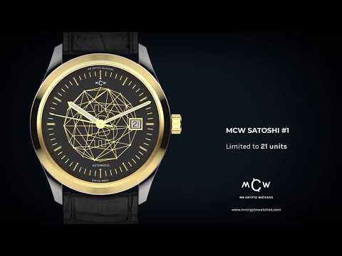 Mr Crypto Watches Satoshi #1