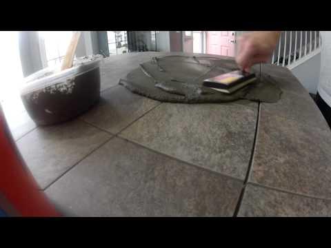 Kitchen Island Tile Countertop