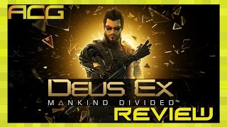"Deus Ex: Mankind Divided Review ""Buy, Wait for Sale, Rent, Never Touch?"""