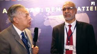 49th ADB Annual Meeting - Interview with Mohan Guruswamy on global economic slowdown