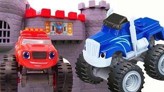 Игры с машинками - Вспыш, Крушила и заброшенный замок