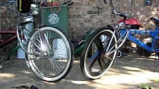 lowrider bike with hydros
