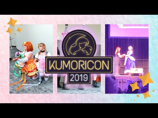 [Vlog] Kumoricon 2019 -  I RAN MY FIRST PANEL!!