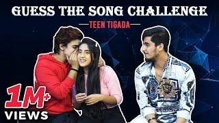 Guess The Song Challenge - Teentigada | Sameeksha Sud | Vishal Pandey | Bhavin Bhanushali