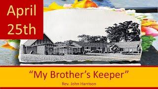 April 25 Worship Southminster Presbyterian Church St. Louis Live Stream