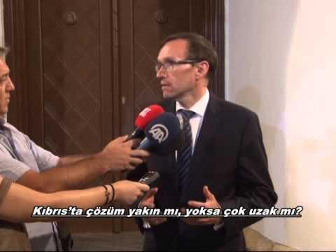 BM GENEL SEKRETERİNİN KIBRIS ÖZEL DANIŞMANI EİDE KANAL SİM'E KONUŞTU.