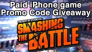 Paid iPhone Game Giveaway - Smashing The Battle for iPhone (iOS)