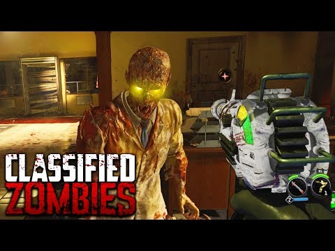 """BLACK OPS 4 ZOMBIES """"CLASSIFIED"""" EASTER EGGS GAMEPLAY PLAYTHROUGH! (Call of Duty Black Ops 4)"""